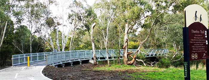 Darebin Creek Trail Shared Path Bridge