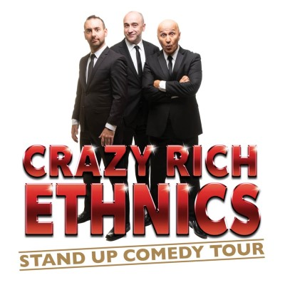 Crazy Rich Ethnics Stand up Comedy Tour featuring George Kapiniaris, James Liotta and Tahir