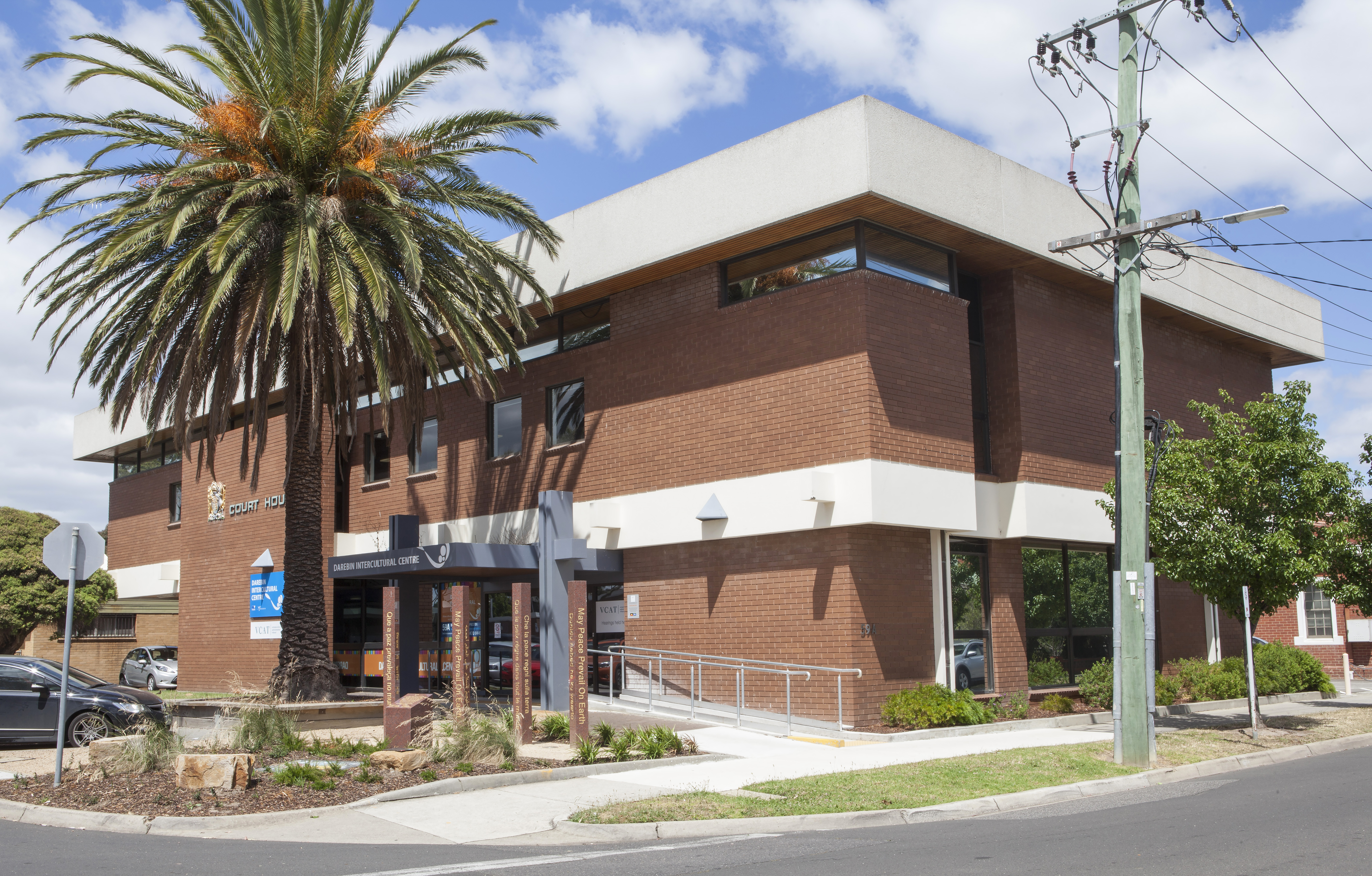 Darebin Intercultural Centre Facade