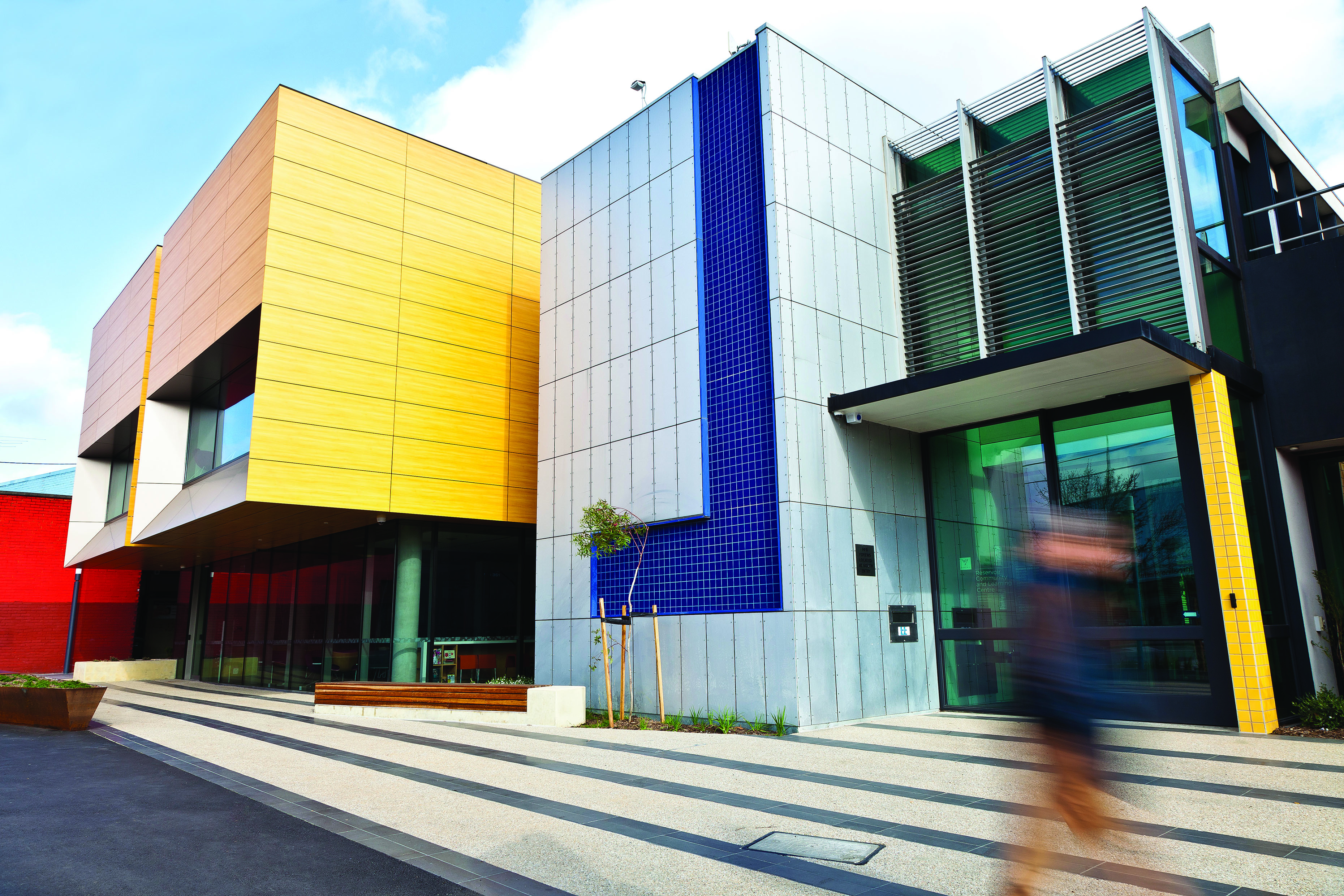 Reservoir Community and Learning Centre facade