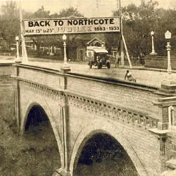 High Street Bridge, Northcote (over the Merri Creek)