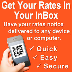 Get Your Rates In Your InBox