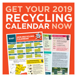 Get your 2019 Recycling Calendar now